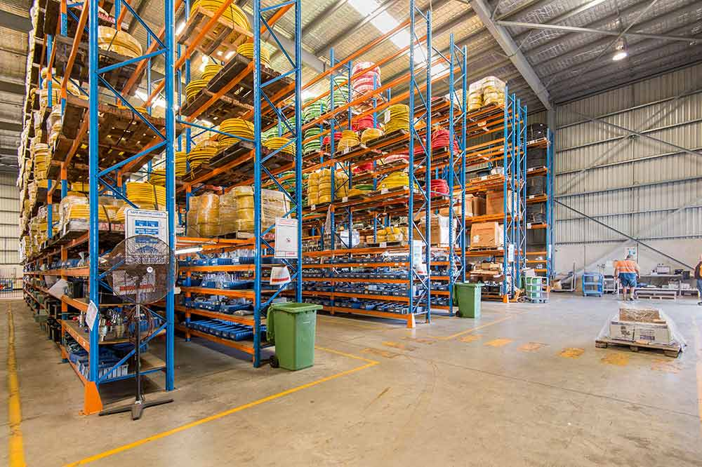 Industrial Trust Property Interior