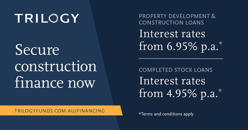 property or construction development finance  Trilogy Funds