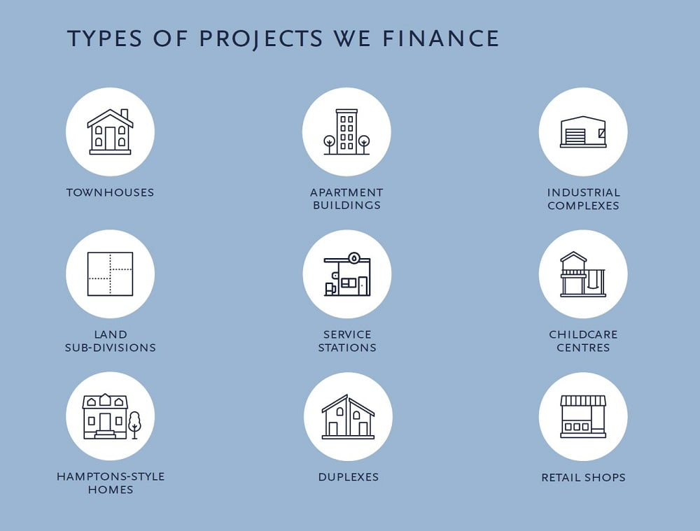 Types of projects we finance   Trilogy Funds