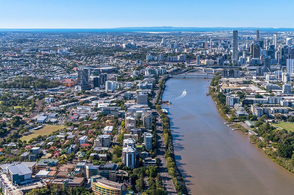 Milton Office Trust Aerial View